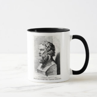 Bust of Plato engraved by Lucas Emil Mug