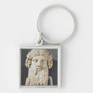 Bust of Plato Keychain