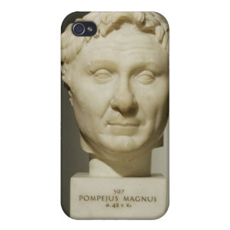 Bust of Pompey (106-48 BC) c.60 BC (marble) iPhone 4 Case