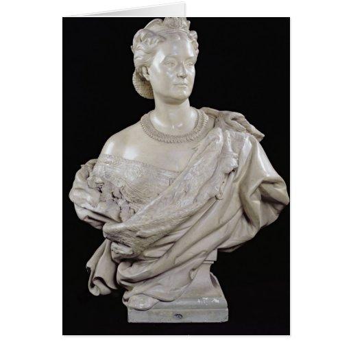 Bust of Princess Mathilde  c.1862-63 Greeting Card