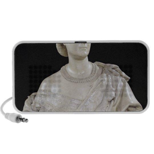 Bust of Princess Mathilde  c.1862-63 Portable Speaker