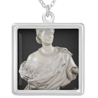 Bust of Princess Mathilde  c.1862-63 Silver Plated Necklace