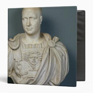 Bust of Publius Cornelius Scipio 'Africanus' 3 Ring Binder