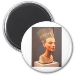 Bust of Queen Nefertiti 2 Inch Round Magnet