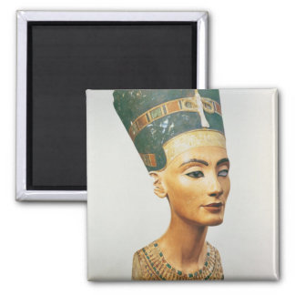 Bust of Queen Nefertiti, from the studio of the sc Fridge Magnets