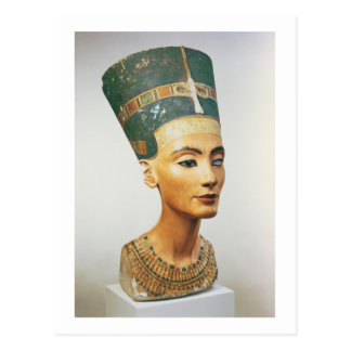 Bust of Queen Nefertiti, from the studio of the sc Postcard