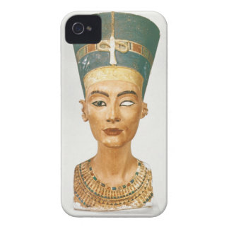 Bust of Queen Nefertiti front view from the stud iPhone 4 Covers