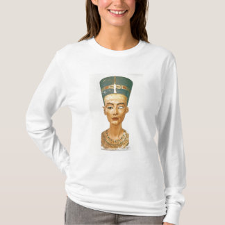Bust of Queen Nefertiti, front view, from the stud T-Shirt