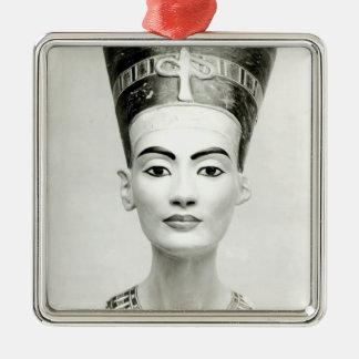 Bust of Queen Nefertiti Metal Ornament