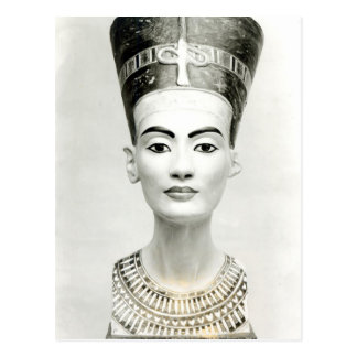 Bust of Queen Nefertiti Post Cards