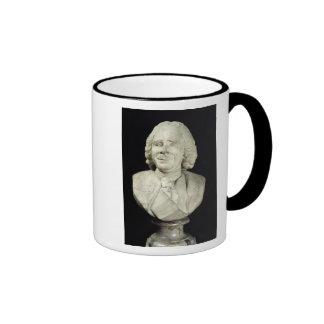 Bust of Rene Antoine Ferchault de Reaumur  1751 Ringer Coffee Mug