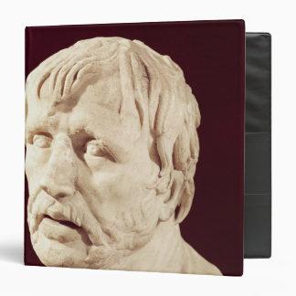 Bust of Seneca 3 Ring Binder