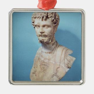 Bust of Septimus Severus Metal Ornament