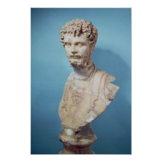 Bust of Septimus Severus Poster