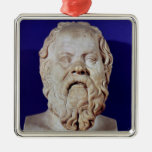Bust of Socrates Christmas Tree Ornaments