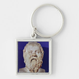 Bust of Socrates Keychain