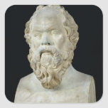 Bust of Socrates Stickers