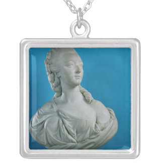 Bust of the Countess du Barry  1773 Silver Plated Necklace