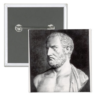 Bust of Thucydides , engraved by Barbant Pin