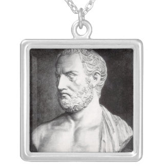 Bust of Thucydides , engraved by Barbant Necklace