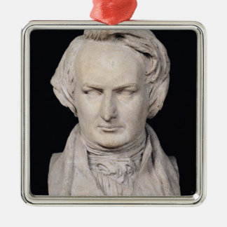 Bust of Victor Hugo  aged 35, 1837 Metal Ornament