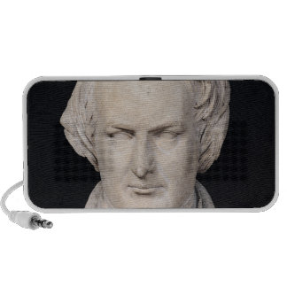 Bust of Victor Hugo  aged 35, 1837 Notebook Speakers