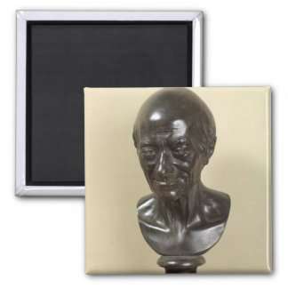 Bust of Voltaire  1778 Magnet