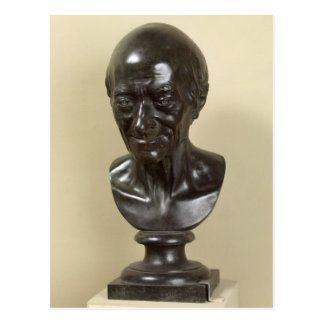 Bust of Voltaire  1778 Postcard