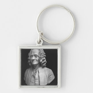 Bust of Voltaire Keychain
