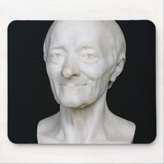 Bust of Voltaire  without his wig, 1778 Mouse Pad