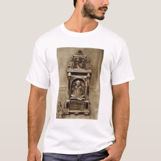 Bust of William Shakespeare (1564-1616) and inscri T-Shirt