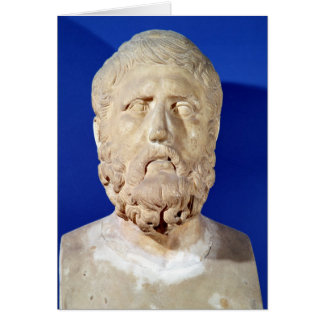 Bust of Zeno of Citium Card