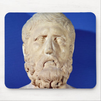Bust of Zeno of Citium Mouse Pad