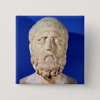 Bust of Zeno of Citium Pinback Button