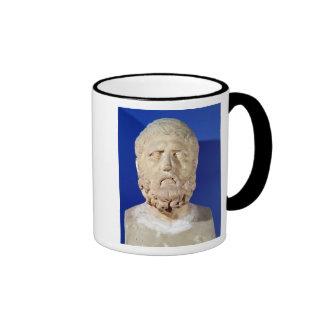 Bust of Zeno of Citium Ringer Mug