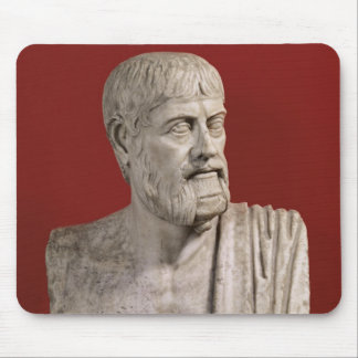 Bust presumed to be Flavius Claudius Julianus Mouse Pad
