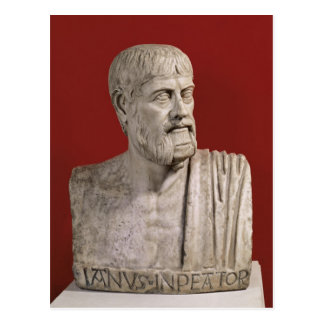 Bust presumed to be Flavius Claudius Julianus Postcard