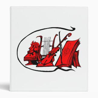bust red lyre violin sheet music design.png binder