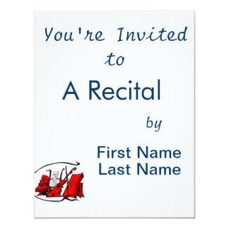 bust red lyre violin sheet music design.png card