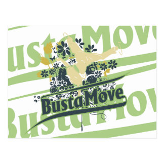 Busta Move T-shirts and Gifts Postcard