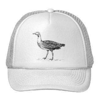 Bustard Bird Sketch Trucker Hat