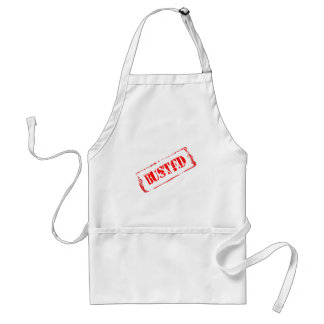 Busted Adult Apron