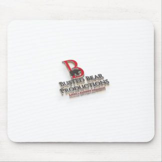 Busted Bear Productions 3D Logo Mouse Pad