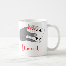 Busted Draw Coffee Mug