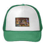 """Busted! (""""His Station and Four Aces"""") Trucker Hat"""