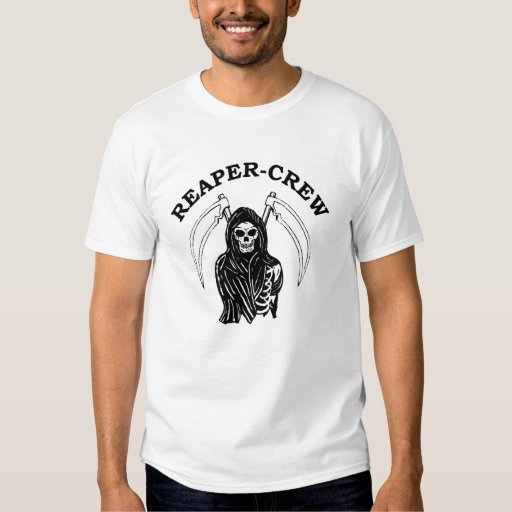 BUSTED-KNUCKLE REAPER-CREW HARDCORE SHIRT