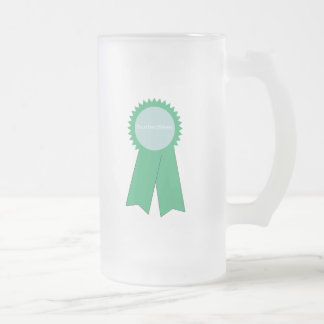 Busted Tees Frosted Glass Beer Mug