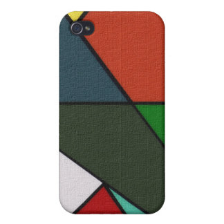 Busted Triangles Cover For iPhone 4