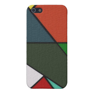 Busted Triangles iPhone SE/5/5s Case