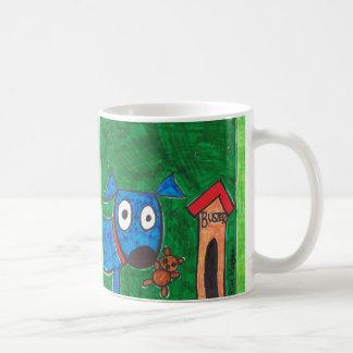 buster and his teddy Coffee Mug